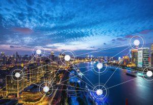 Main header AND website - smart city